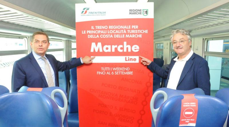 Nei fine settimana i treni del mare fanno sosta anche a Marotta