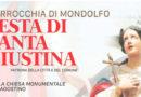A Mondolfo tre giorni di festeggiamenti per la Patrona Santa Giustina