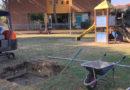 A Marotta un giardino pubblico con giochi per bambini con disabilità