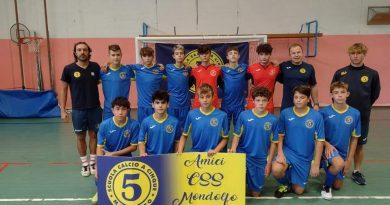 Un altro weekend all'insegna del successo per gli Amici del Mondolfo calcio a 5