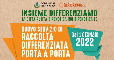 Da gennaio a Marotta e Mondolfo un nuovo servizio di raccolta differenziata porta a porta